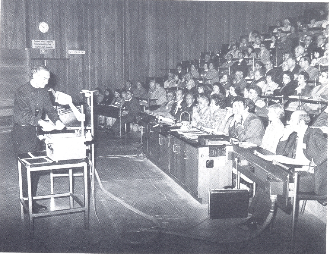 Wolfensberger 1978  Teaching At Workshop In Australia