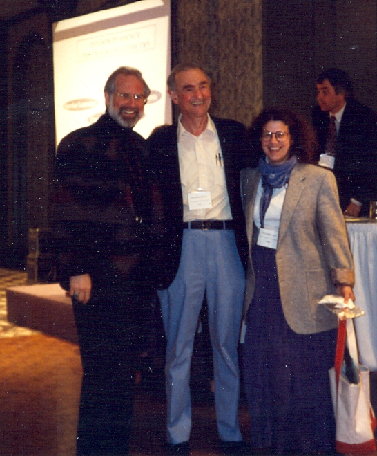 Wolfensberger 1994 With Bill Bronston  Zana Lutfiyya   Ottawa ON