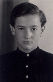 Wolf Wolfensberger, ca. 1950, as a boy in Germany